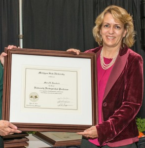Dr. Mary Hausbeck, University Distinguished Professor