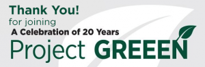 Project GREEEN 20 years