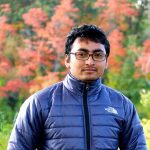 Sunil Shrestha  - in Front of Fall colored Trees